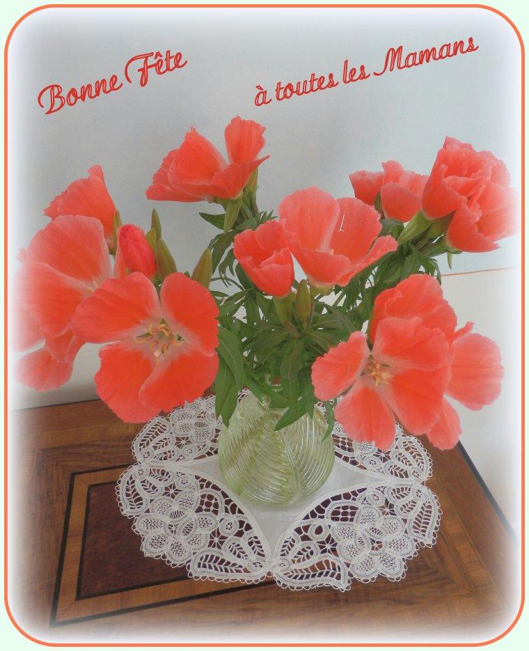 Bonne Fête à toutes les Mamans, douce journée à elles !