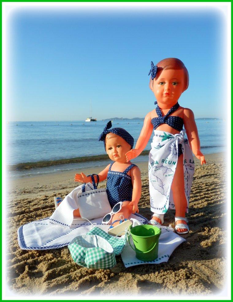 Jolie Françoise et son amie rêvent encore de leurs vacances à l'Île de la Réunion !