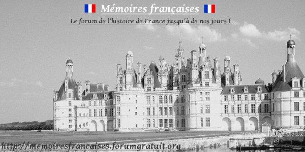 Mon forum sur l'histoire de France
