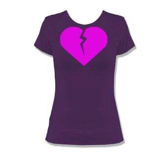 T-shirt broken heart - coeur brisé - Alstyle Apparel 5562- T-Shirt Pour Femmes