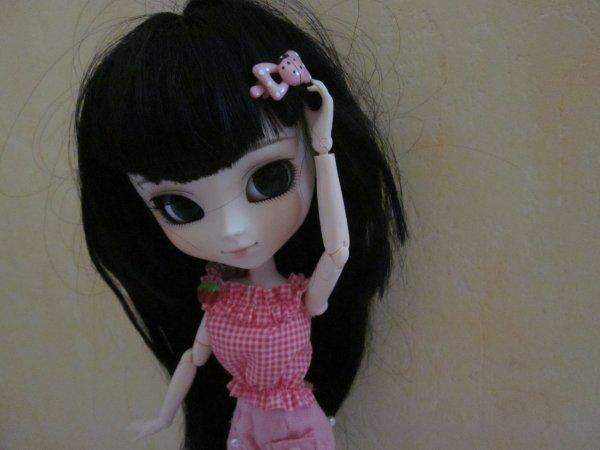 Séance photo de Miyoko //Rose, Coccinelle et Petites Fraises// ♥