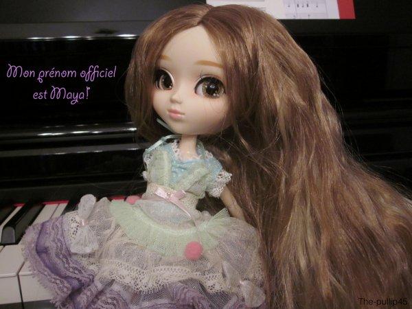Kiyomi a un prénom!
