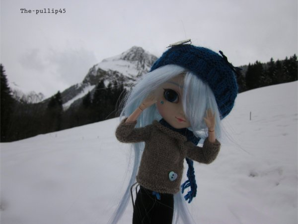 Séance photo de Miku In the winter snow.... (2)