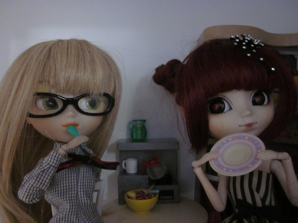 Séance photo, Tea party!