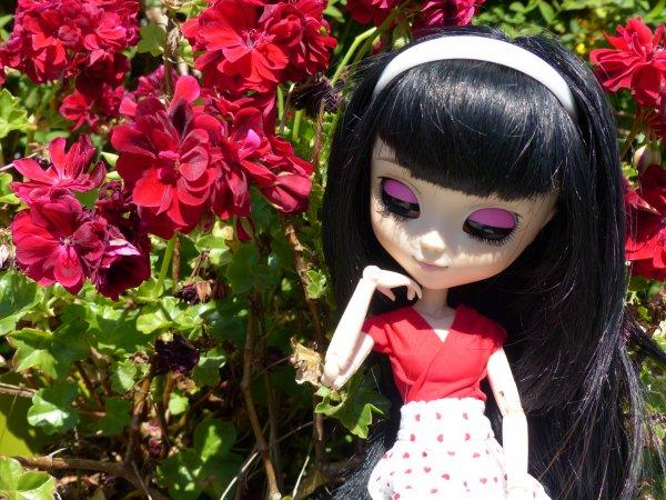 Fleurs, renard et c½urs (1)