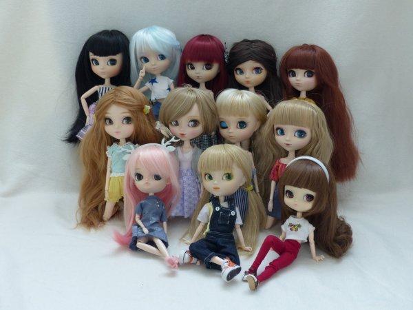 5 ans - 12 Dolls