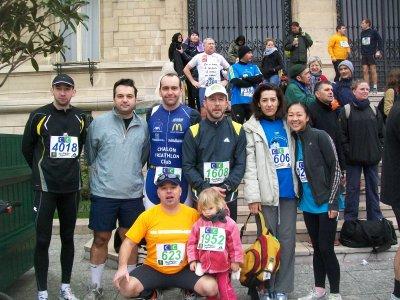 Dimanche 6 février 2011 : Les foulées de Vincennes (94)
