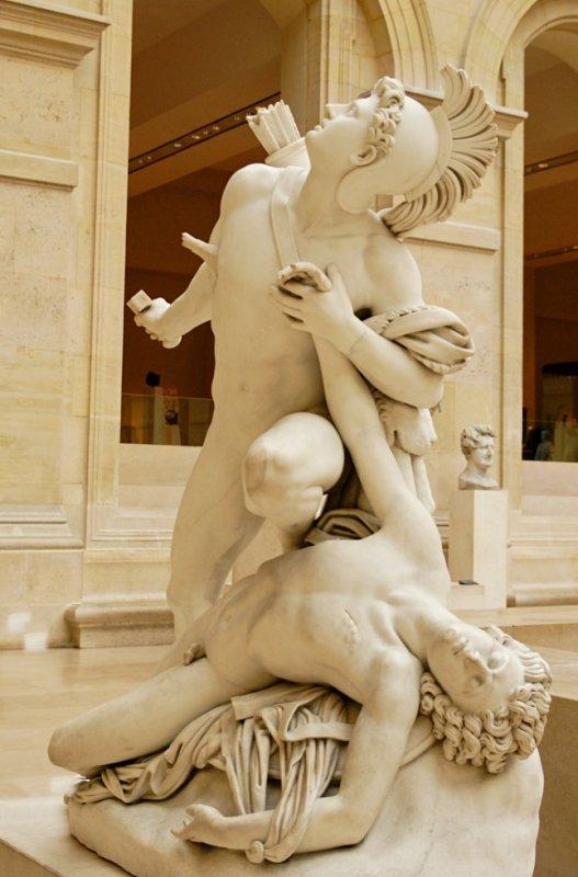 Nisos et Euryalose, Louvre, Paris, F