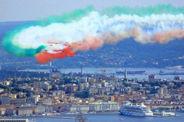 Le frecce a Trieste 02.06.2014