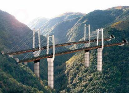 New pont en Calabre