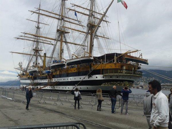Amerigo Vespucci navire de formation
