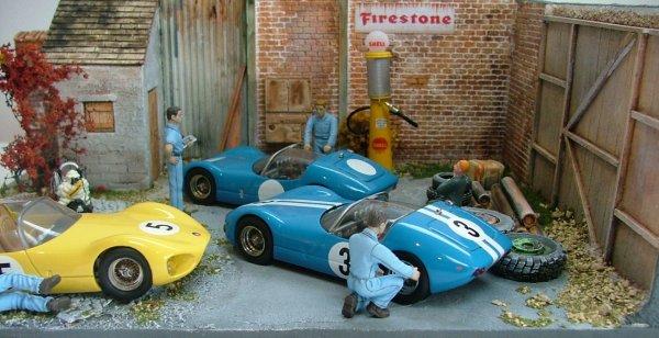 Michel Vaillant prépa. avant Le Mans