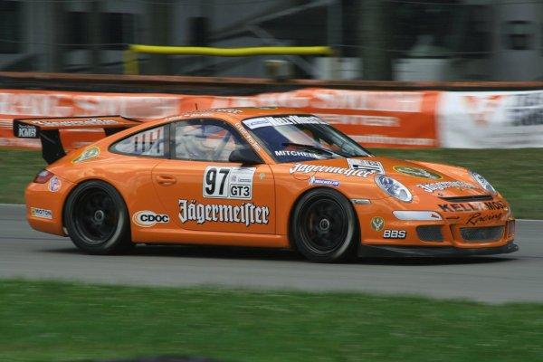 """Porsche GT3 """"Cup"""" Jägermeister 2008 projet en cours au 1/18."""