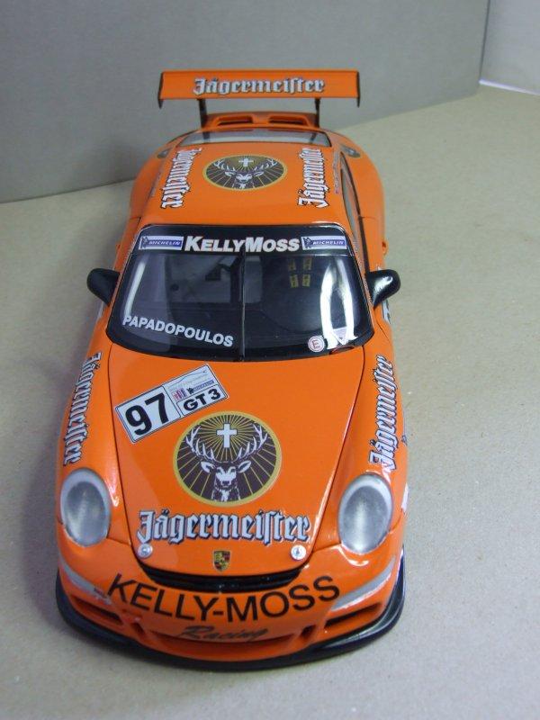 """Porsche GT3 """"Cup"""" Jägermeister 2008 au 1/18."""