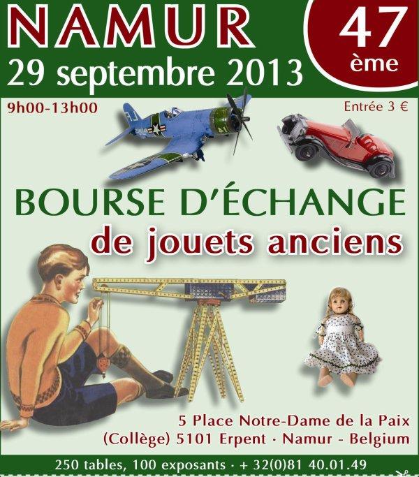 Namur Toy Show 29 septembre 2013