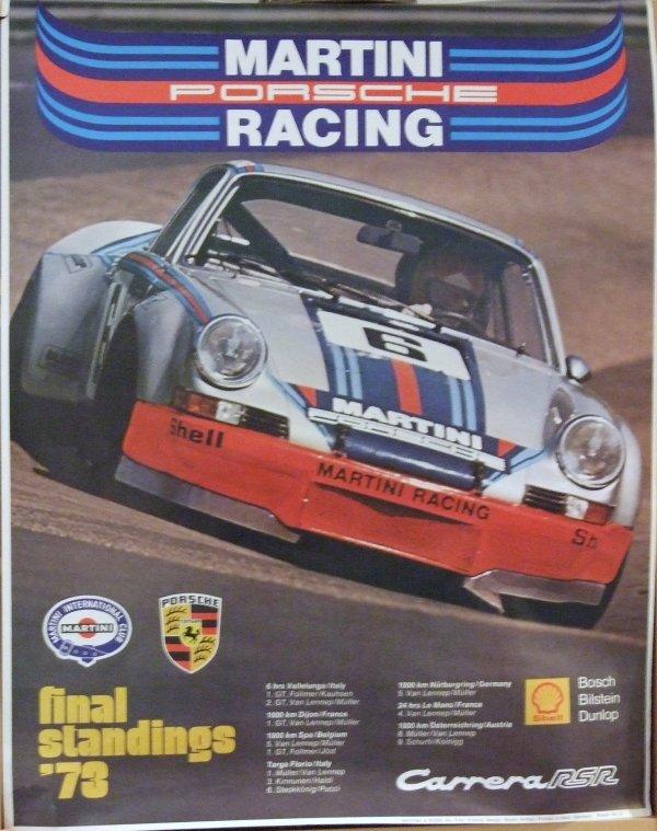 Affiche Porsche.