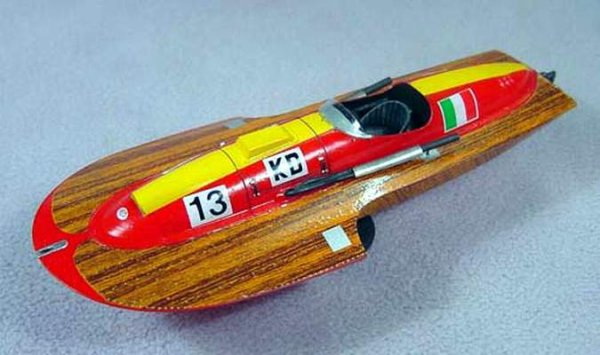 Bateaux Timossi 1/43