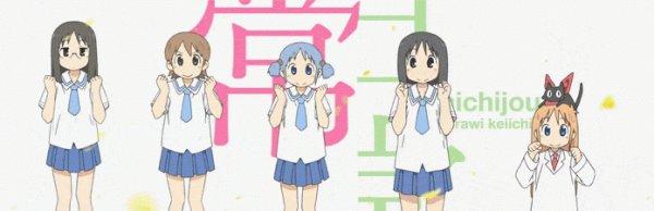 Anime 1 - NICHIJOU  日常