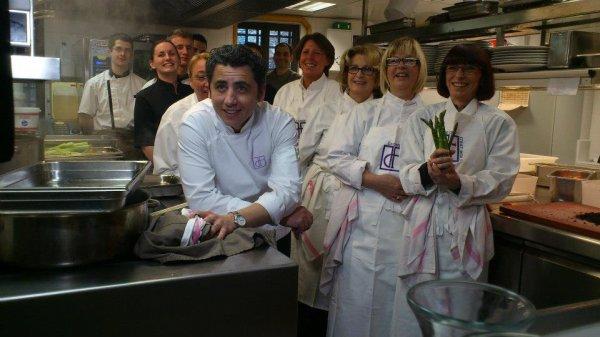 Les élèves de L'école de Cuisine , cuisine pour vous Le 26 février 2015!