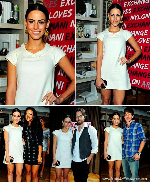 Jessica était à l'évènement NYLON and A/X le 10 decembre.  Jessica est magnifique, j'adore sa tenue toute blanche. Inspiration
