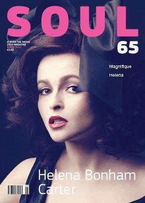 """Helena en couverture du magazine """" Soul"""""""