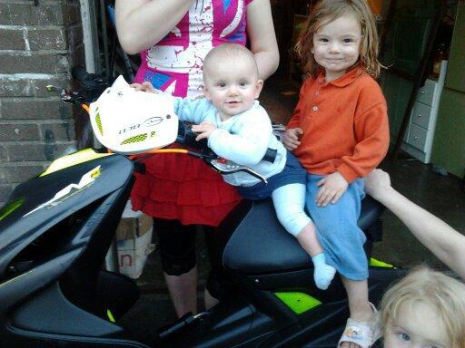 la niece et la filleule a ma femme