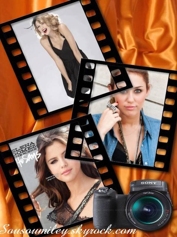 Que préférez-vous dans ces 3 talentueuses supers stars, Moi je les adore. Et vous???
