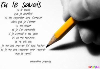 Poème De Ma Soeur Amandine Blog De Corentin59790
