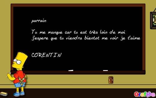 Pour Parrain Blog De Corentin59790