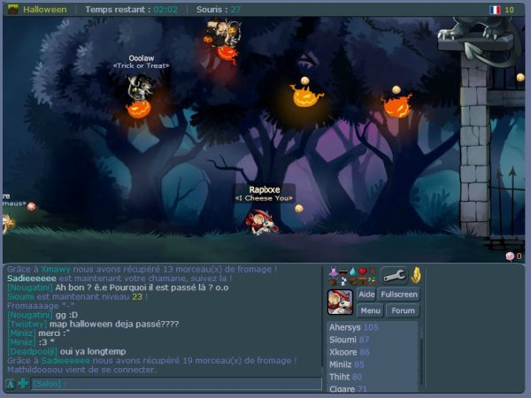 NEWS TMF : Halloween 2013 sur Transformice ! (1)