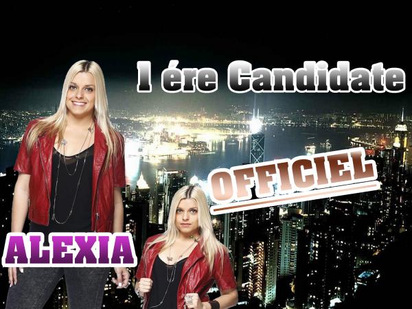 Alexia - 1ère Candidate officiel