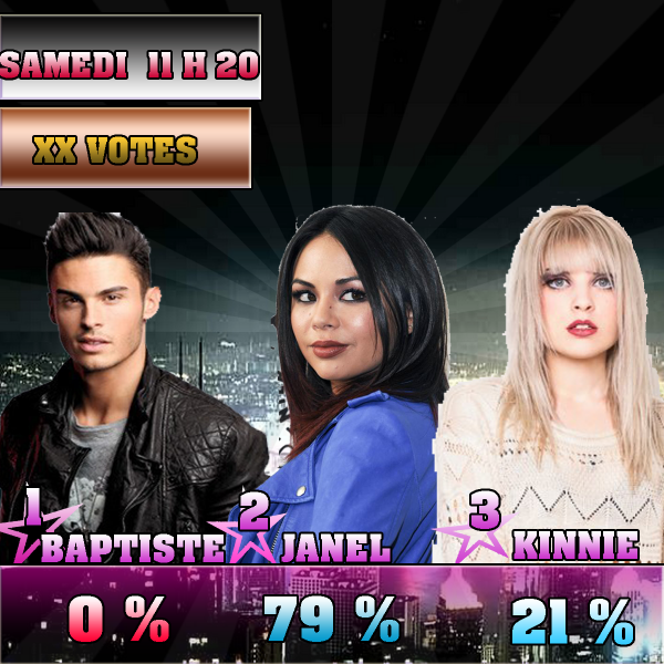 NOMINATION 2 : BAPTISTE  - JANEL - KINNIE