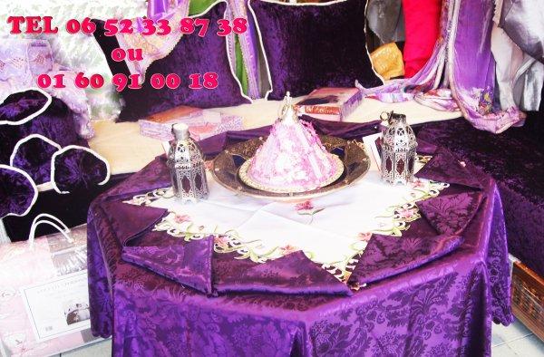 Différents modèles de salon marocain rouge rose mauve noir ...