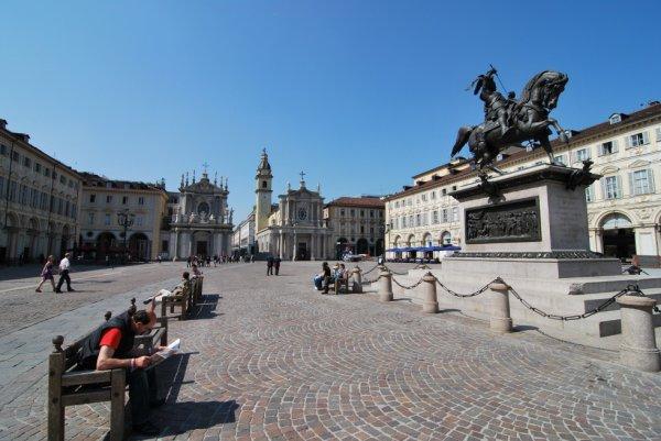 Piazza San Carlo à Turin