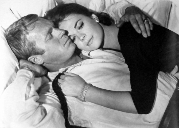 Nathalie Wood avec Steeve Mac Queen