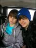 Christian Beadles and Justin Bieber
