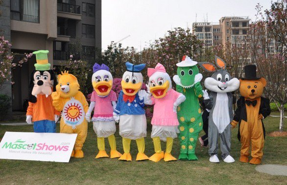 The Best Way to Acquire Mascot Costumes Online