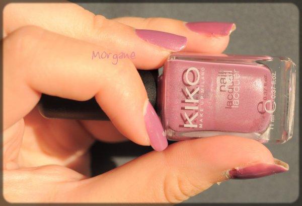 "Swatch ! ( Kiko ""Mauve Pink"" n°258 )"