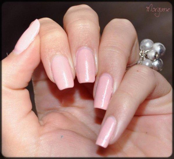 """Swatch ! ( Kiko """"Satin Pastel Pink"""" n° 216 )"""