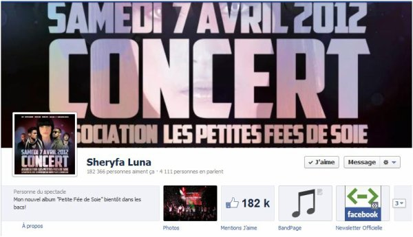 Les sites Officiels de Sheryfa Luna