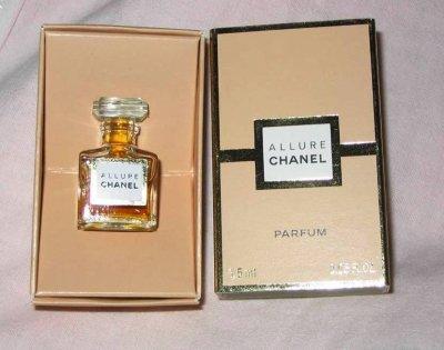 Chanel Allure 2 Versions Dextrait De Parfum 15 Ml Fandeminis