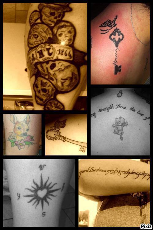 Mes tatoos :p