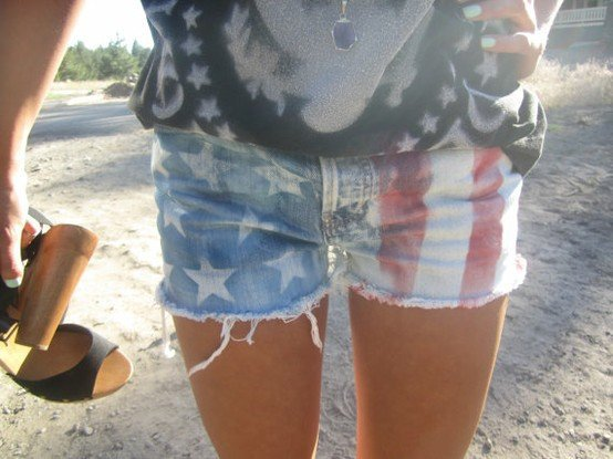 fabriquer son short USA