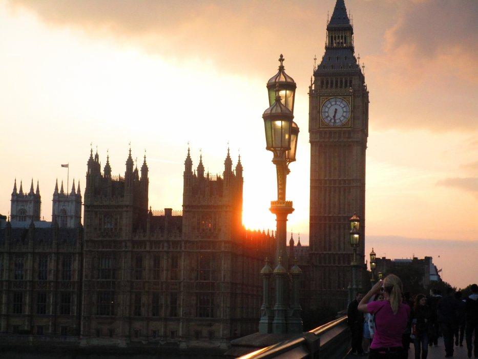 Jeune fille au pair à Londres