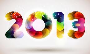 Bonne Année 2013.