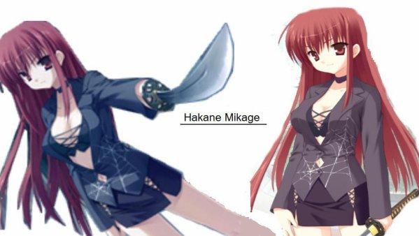 Hakane Mikage ( Perso inventé ) [ Apparait au chapitre 8 ]