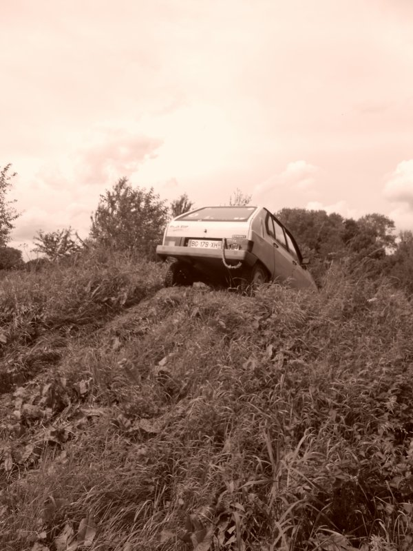 L'essai des pneus Eurocross