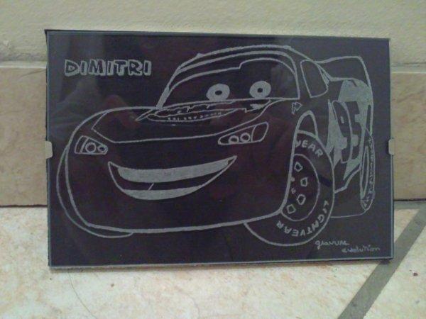 Gravures personnalisé cars !!! ^^
