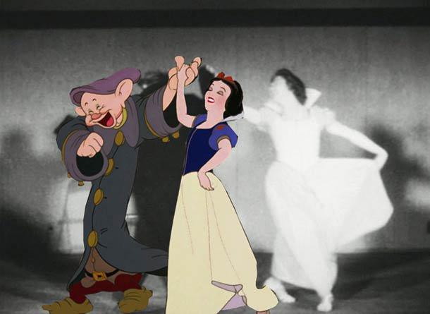 DISNEY ROTOSCOPING – Quand Disney tournait de vraies scènes pour aider ses animateurs