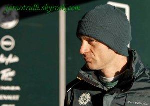 Caterham remplacer Jarno Trulli avec Vitaly Petrov pour 2012 saison de Formule Un
